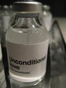 bottle unconditional love
